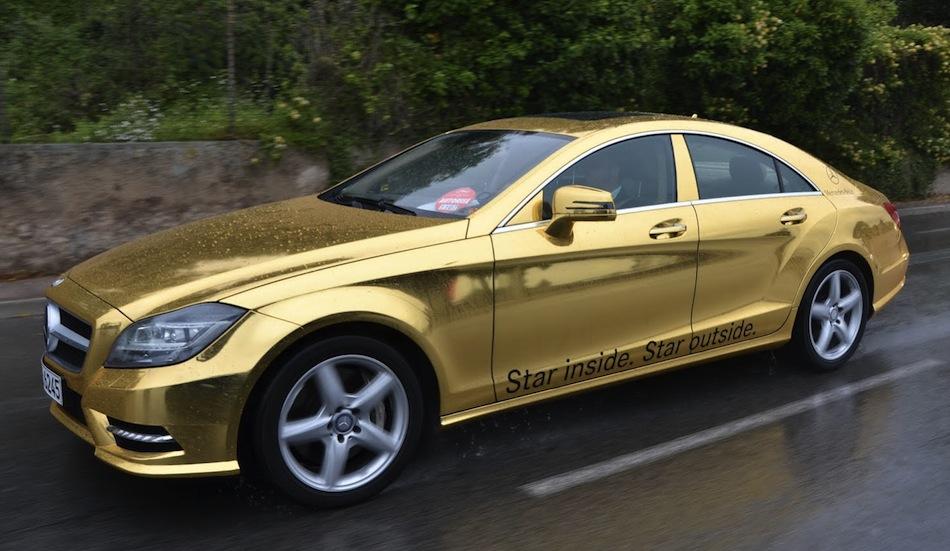 Cannes Film Festival Mercedes-Benz CLS63 AMG