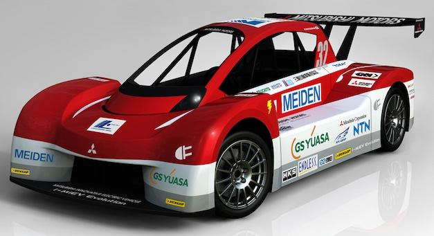Mitsubishi i-MiEV Evolution Pikes Peak racer
