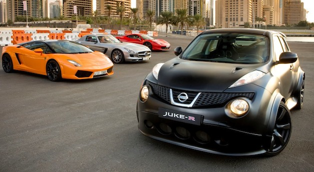 Report: Nissan Juke-R will be offered for $590,000 in the United States