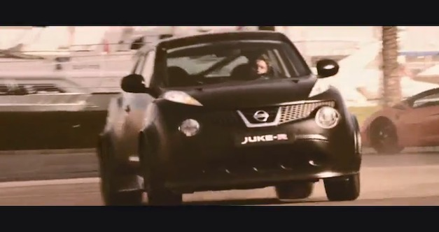 Video: Nissan Juke-R gets its own cinematic online movie