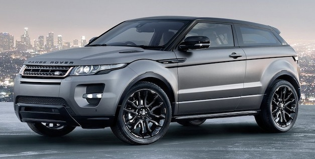 Report: Land Rover planning sportier Range Rover Evoque model