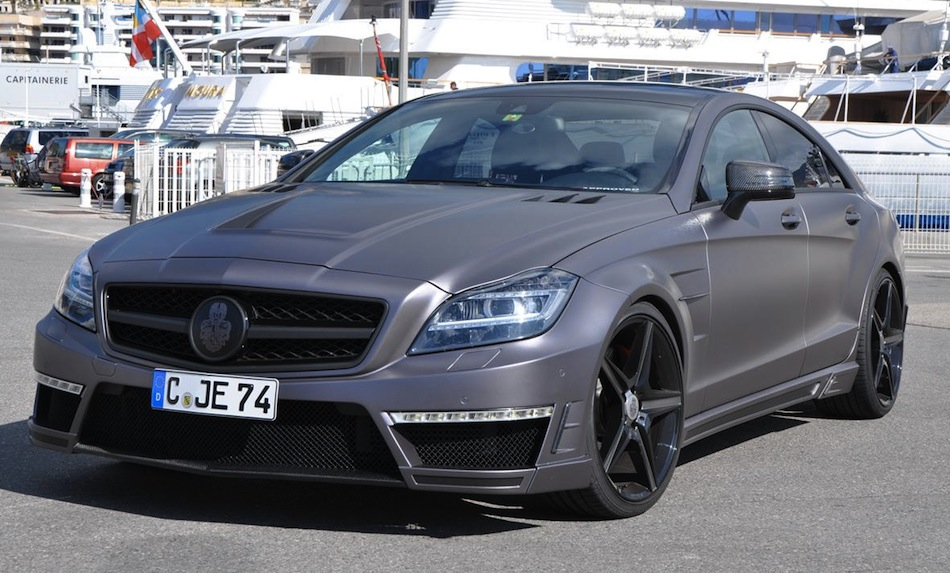 Special Customs Mercedes-Benz CLS63 AMG