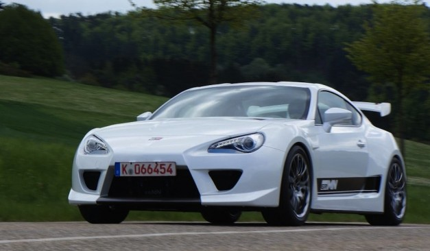 GRMN Sports FR Concept is a race Toyota GT 86 that will run the Nurburgring 24 hour