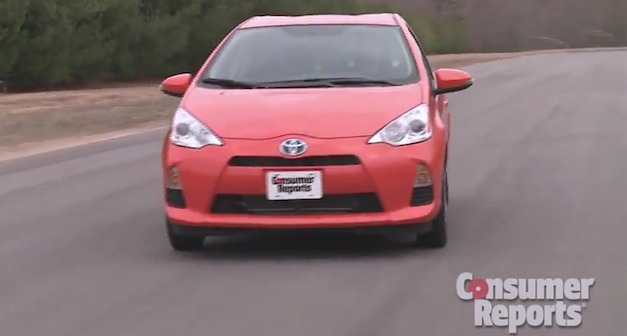 Toyota Prius C doesn't receive Consumer Reports recommendation