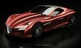 Alfa Romeo C12 GTS Concept Front 7/8 View