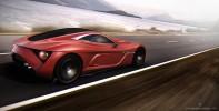 Alfa Romeo C12 GTS Concept Action Angle