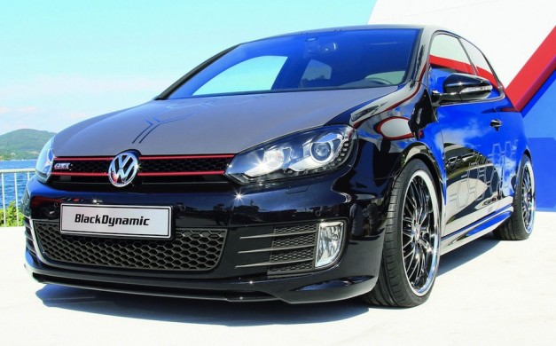 Volkswagen Golf GTI Black Dynamic Concept debuts at Worthersee