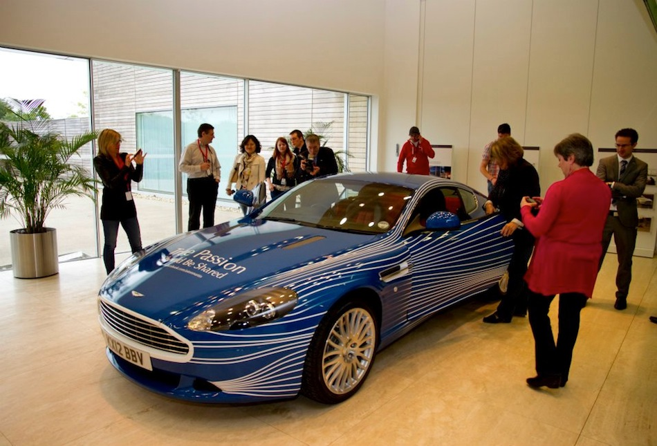 2012 Aston Martin DB9 1M Debut