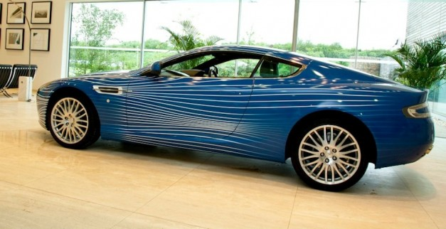 2012 Aston Martin DB9 1M Left 7/8