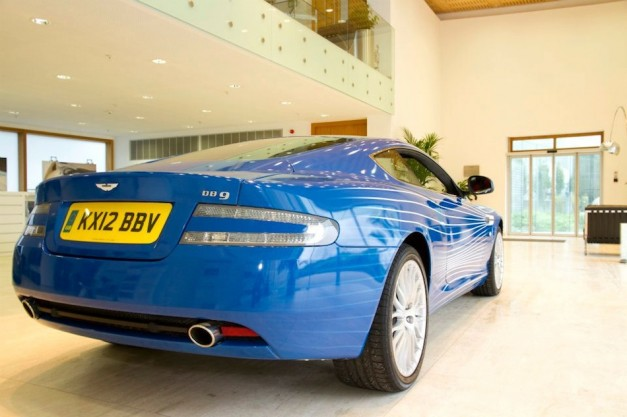 2012 Aston Martin DB9 1M Rear 3/4 Right