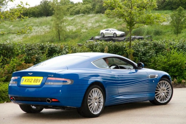 2012 Aston Martin DB9 1M Rear 7/8 Right