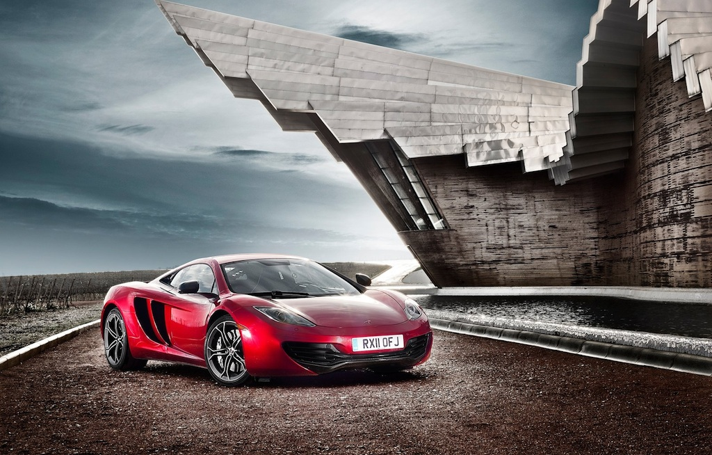 2012 McLaren MP4-12C Front 3/4 Right
