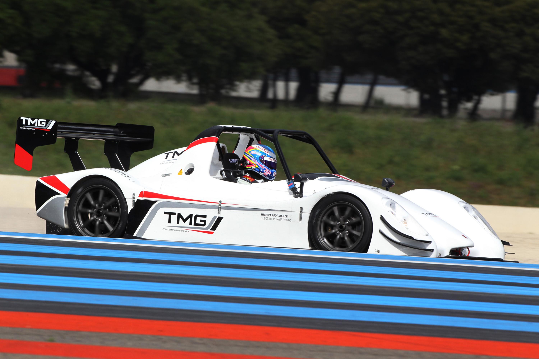 2012 Toyota Motorsports GmbH EV P002 Testing