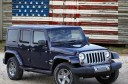 2012 Jeep Wrangler Unlimited Freedom Edition Flag