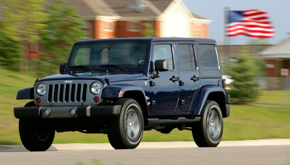 2012 Jeep Wrangler Unlimited Freedom Edition in Action