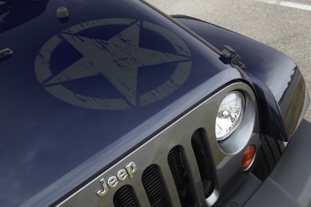 2012 Jeep Wrangler Unlimited Freedom Edition Hood