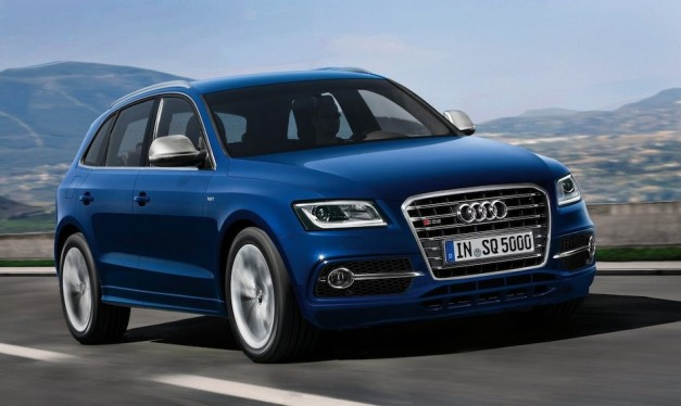 Video: Audi unveiled 2013 SQ5 TDI at 24 Hours of Le Mans today