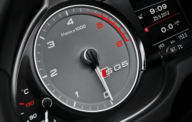 2013 Audi SQ5 TDI Rev Counter