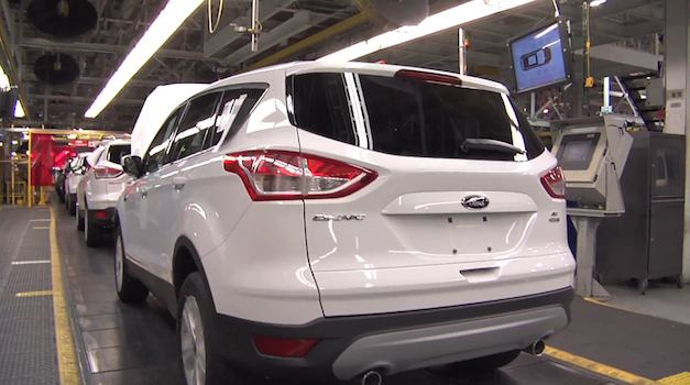 2013 Ford Escape Assembly Line
