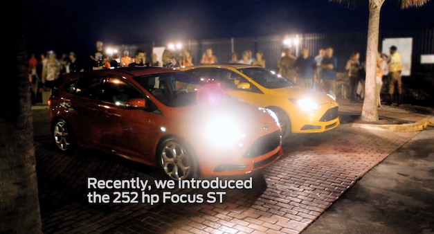 2013 Ford Focus ST First TV Ad