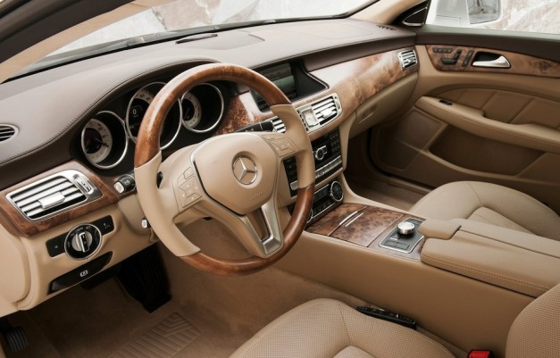 2013 Mercedes-Benz CLS Shooting Brake Driver Seat Designo