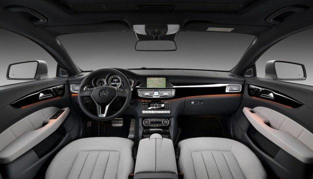 2013 Mercedes-Benz CLS Shooting Brake Interior Front