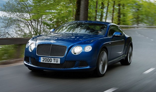 2013 Bentley Continental GT Speed Front 3/4 Action View