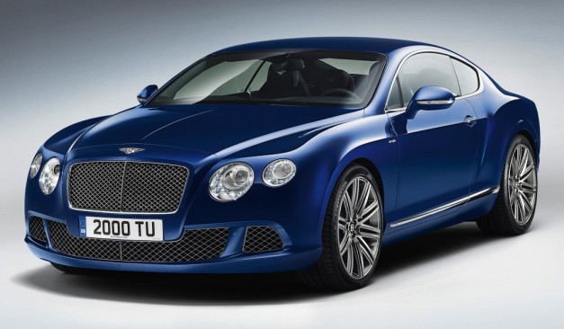 2013 Bentley Continental GT Speed Front 7/8 View