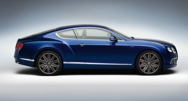 2013 Bentley Continental GT Speed Side View
