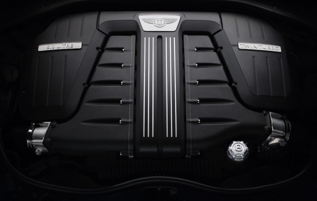 2013 Bentley Continental GT Speed Engine