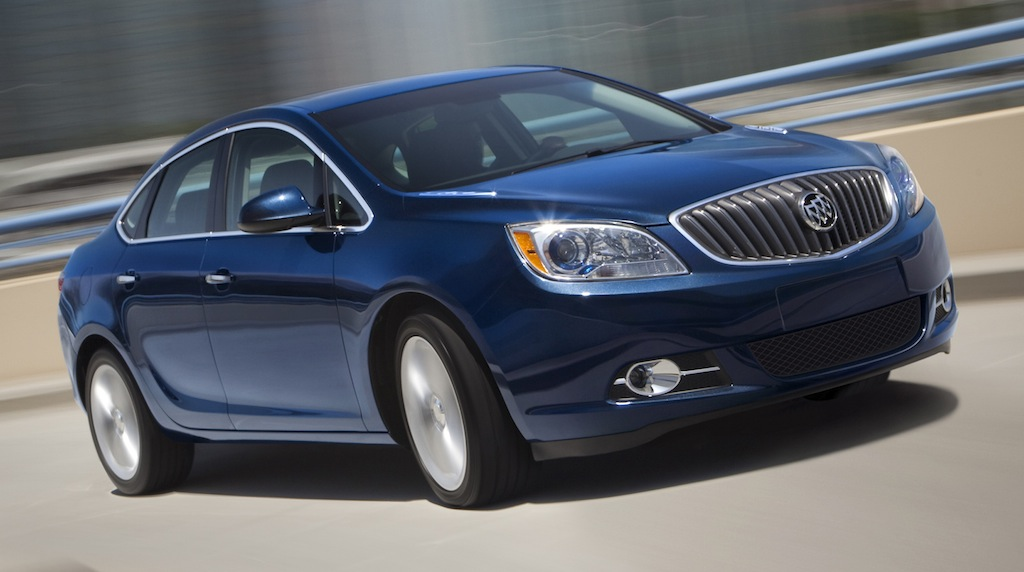 2013 Buick Verano Turbo Main Front View