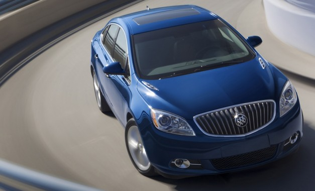 2013 Buick Verano Turbo EPA-rated at 31 mpg highway