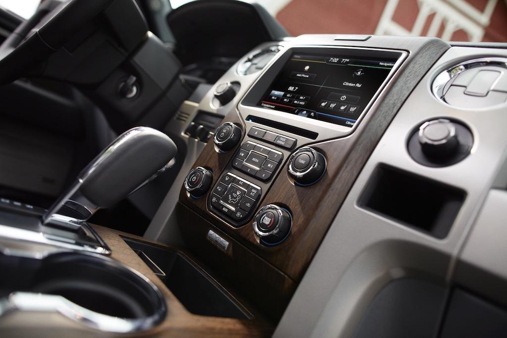 2013 Ford F 150 Lariat Center Dash Egmcartech