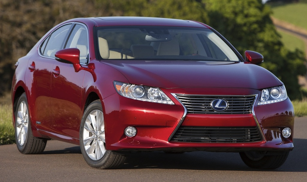 2013 lexus es 350 and 300h fuel economy performance. Black Bedroom Furniture Sets. Home Design Ideas