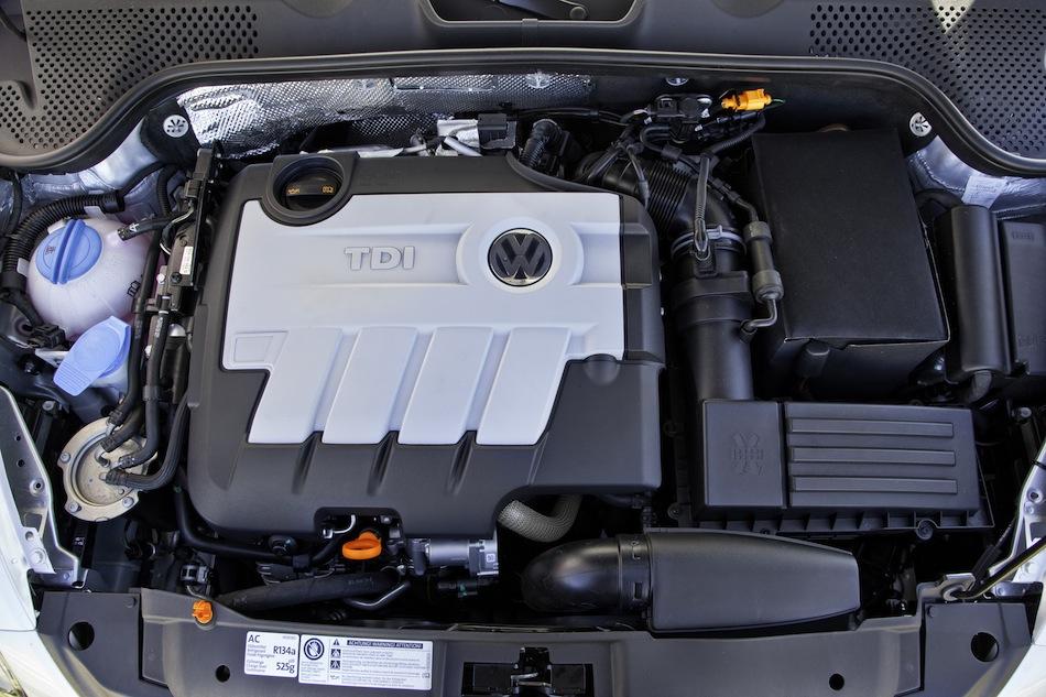 2013 Volkswagen Beetle TDI Diesel Engine