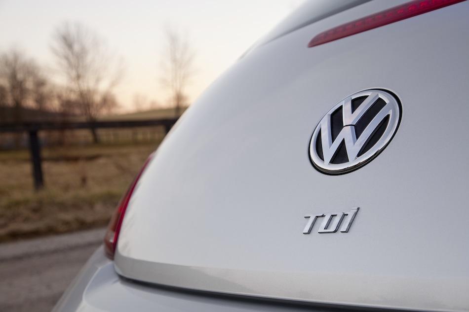 2013 Volkswagen Beetle TDI Diesel Rear Fascia