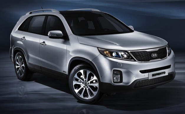 2014 Kia Sorento Front 7/8 View