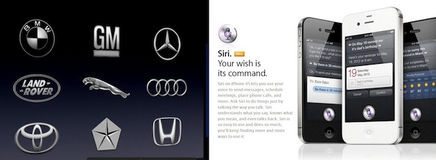 Apple Siri in Cars