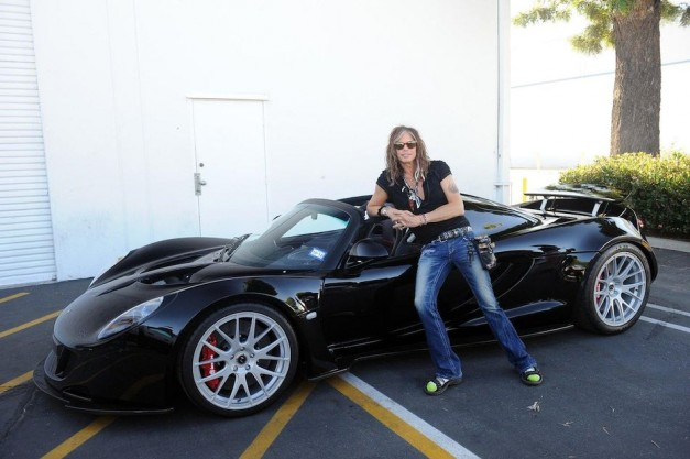 Report: First Hennessey Venom GT Spyder goes to Aerosmith's Steven Tyler