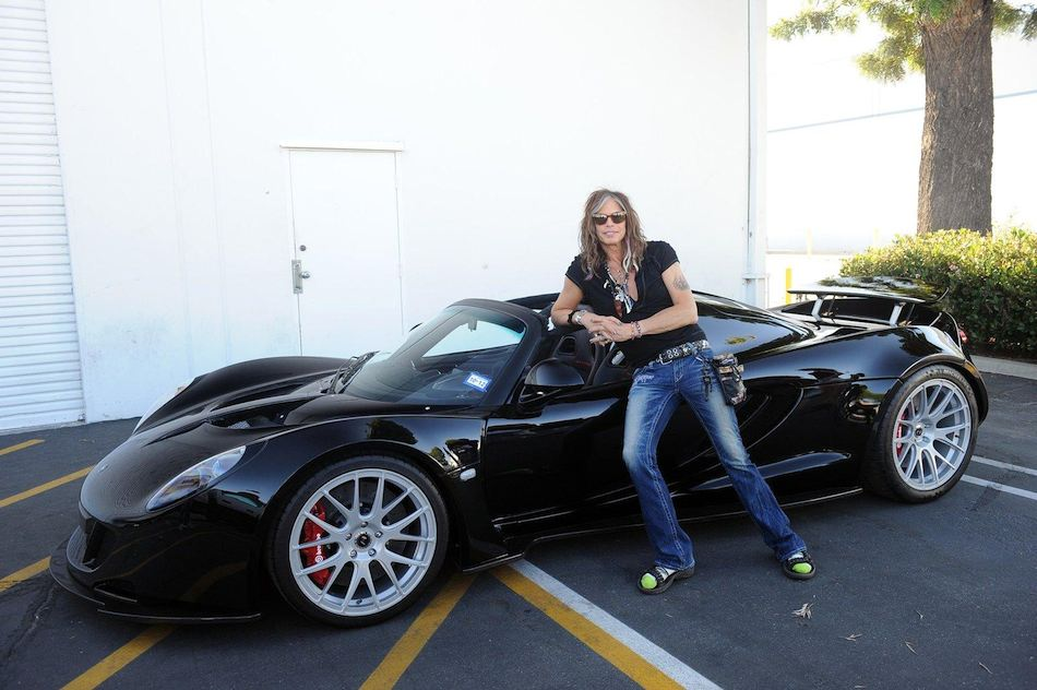First Venom GT Spyder to Aerosmith Steven Tyler
