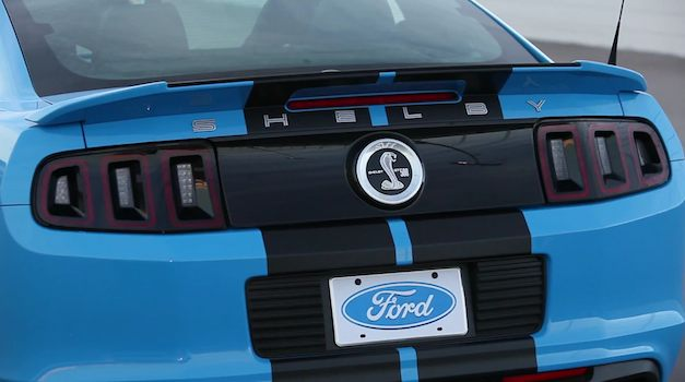 Ford Shelby GT500 200MPH at Italy Nardo Ring