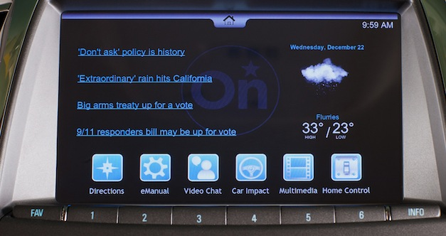 OnStar Multimedia Connectivity