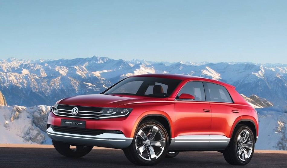 Volkswagen CrossCoupe Study Concept