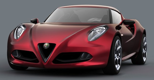 Report: Alfa Romeo 4C convertible will follow coupe's release in 2014