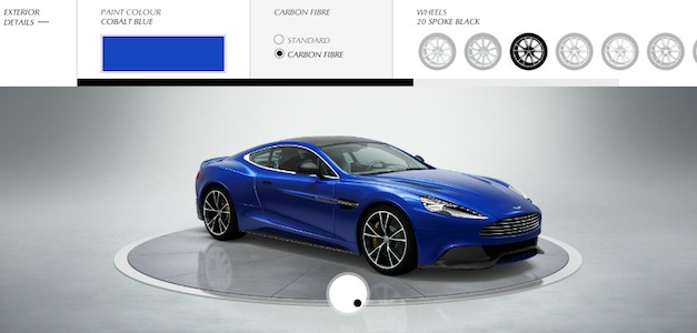 Build your own Aston Martin AM 310 Vanquish