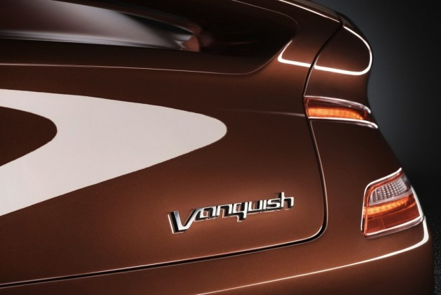 Aston Martin AM 310 Vanquish Badge