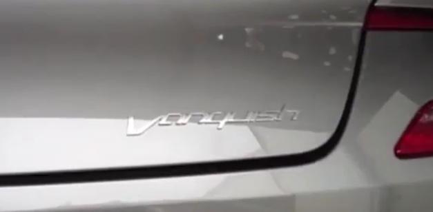 Aston Martin Vanquish Spy Logo