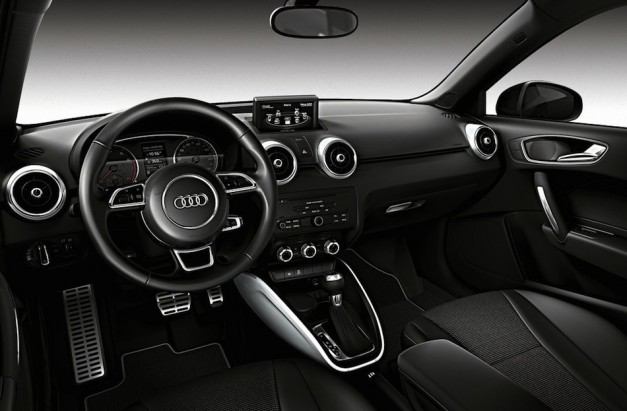 Audi A1 Glacier White Interior
