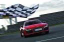 Audi R8 e-tron Nurburgring Lap Finish Line