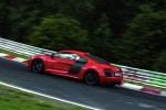 Audi R8 e-tron Nurburgring Lap Side View